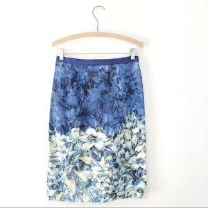 Anthro Moulinette Soeurs Floral Pencil Skirt 6